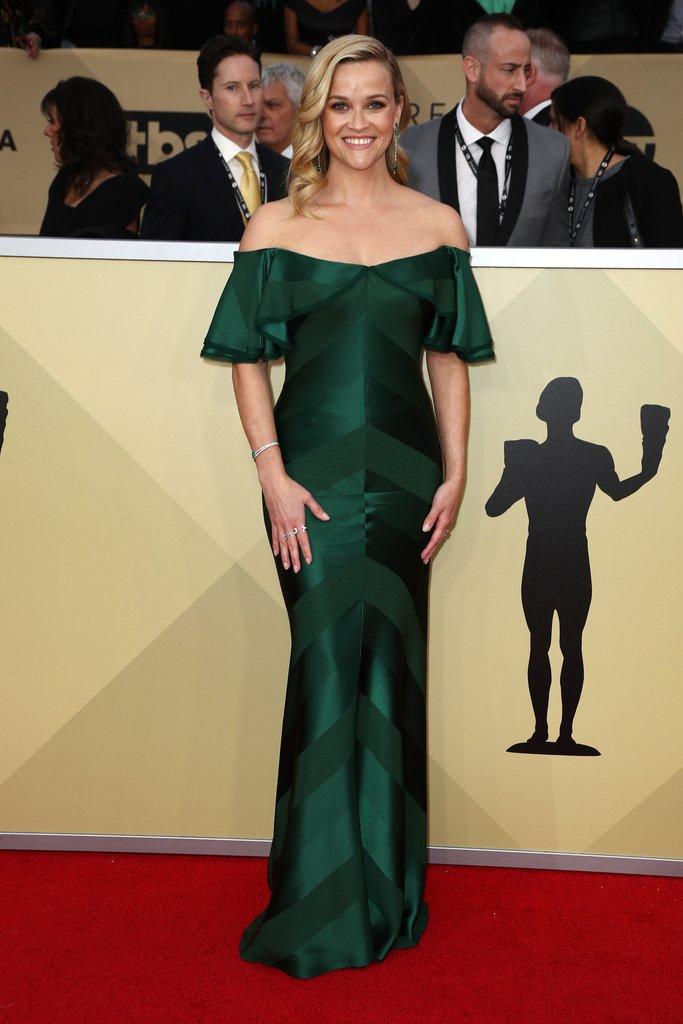 SAG Awards red carpet fashion 2018 Reese-Witherspoon