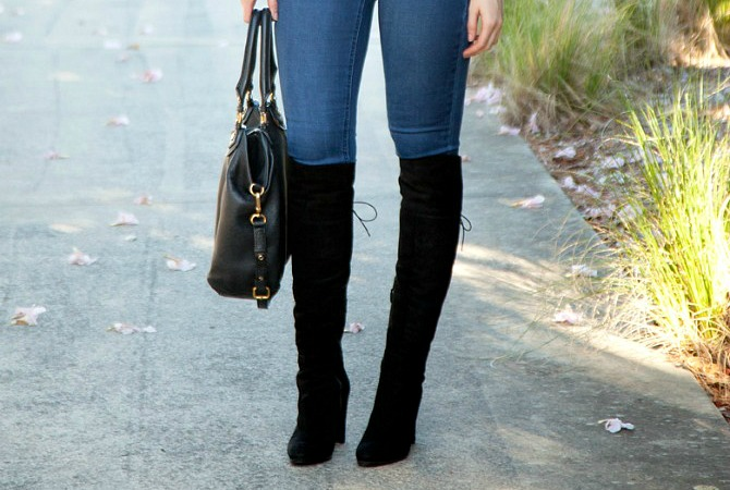Style Sessions – Over The Knee Boots Outfit