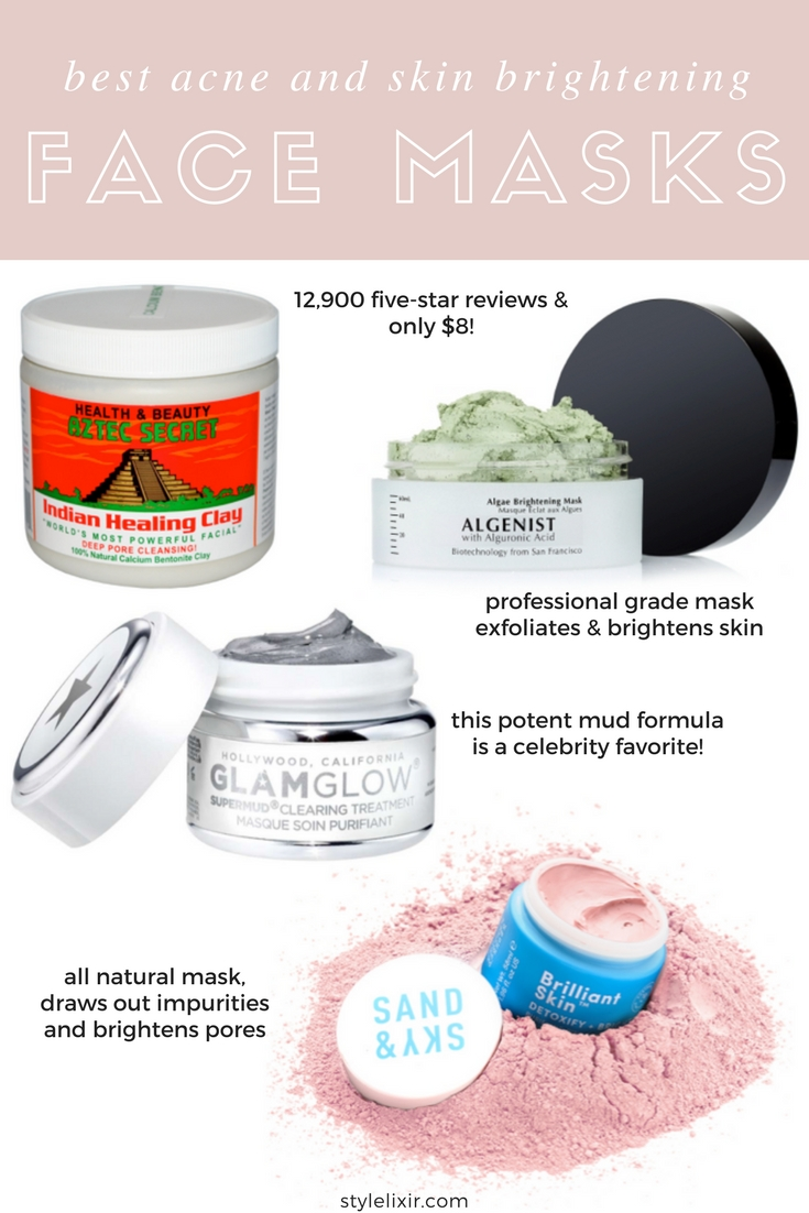 Best Face Masks For Acne aztec secret indian clay review sand and sky pink clay face mask skincare