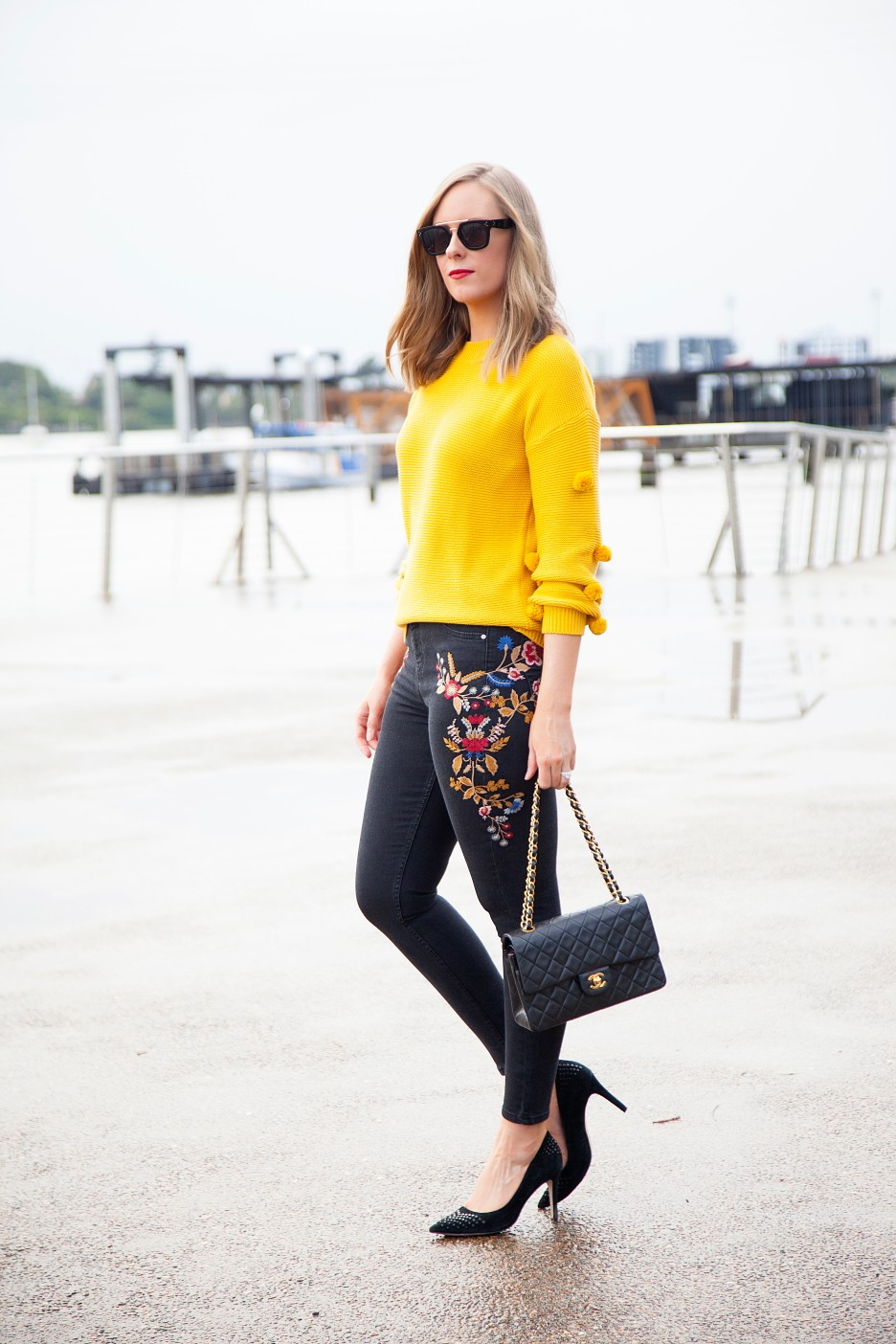 Style Elixir blog Lauren Slade marigold color trend fashion style outfit ideas 1