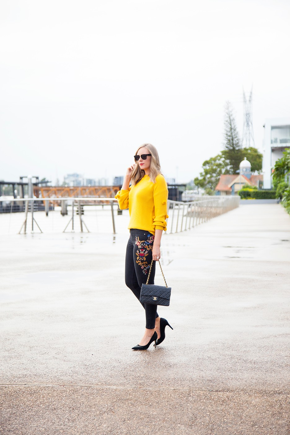 Style Elixir blog Lauren Slade marigold color trend fashion style outfit ideas 12
