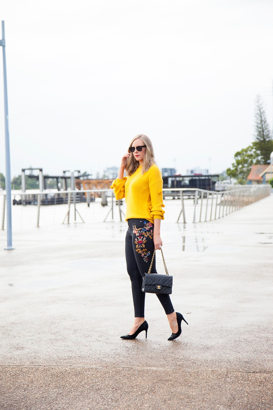Style Elixir blog Lauren Slade marigold color trend fashion style outfit ideas 2
