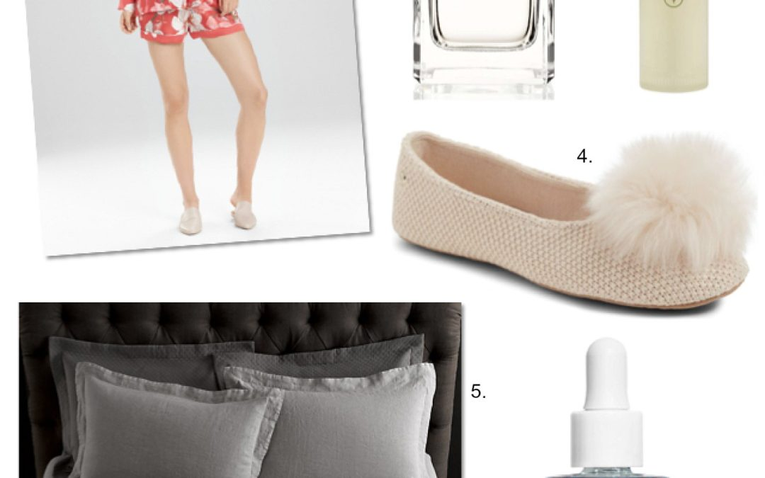 Friday Faves: Bedtime Luxury – Sleepwear, Sheets and Scents
