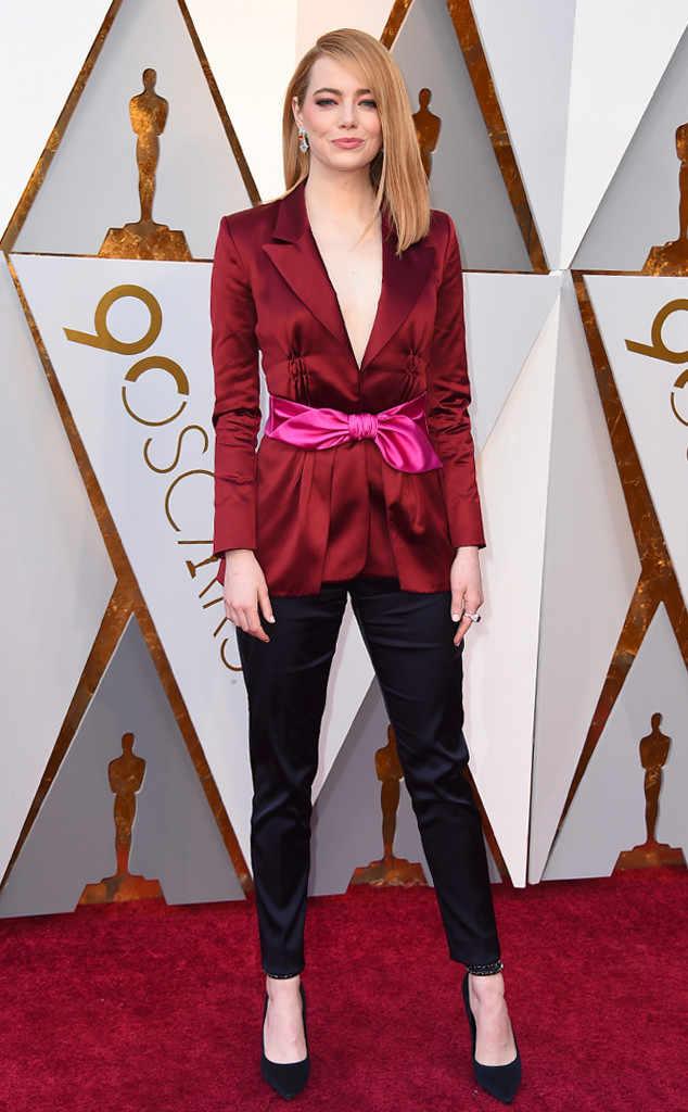 oscars 2018 red carpet fashion best dressed emma stone