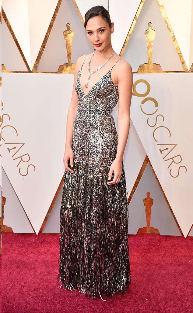 oscars 2018 red carpet fashion best dressed gal gadot