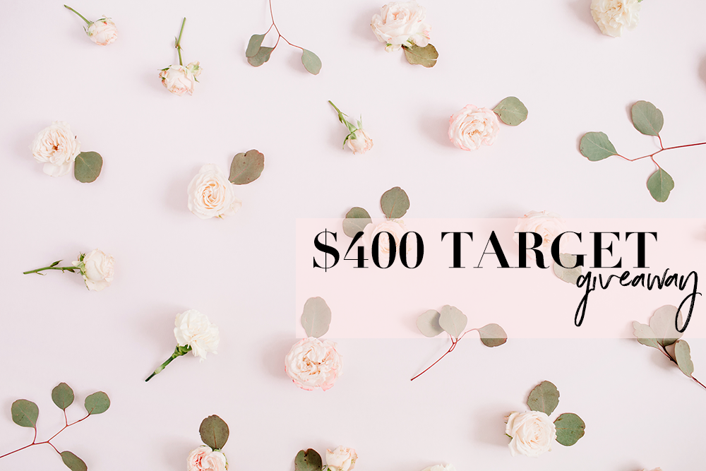 Giveaway: Win A $400 Target Gift Card