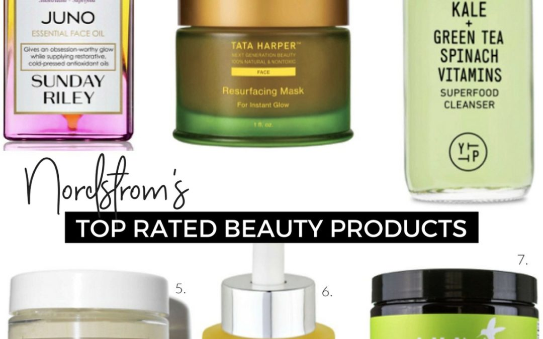 Friday Faves – Nordstrom's Top Rated Beauty Products