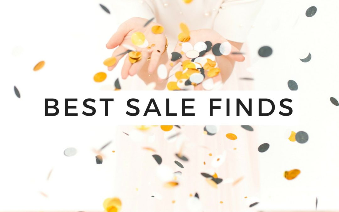 Friday Faves – The Best Sale Finds