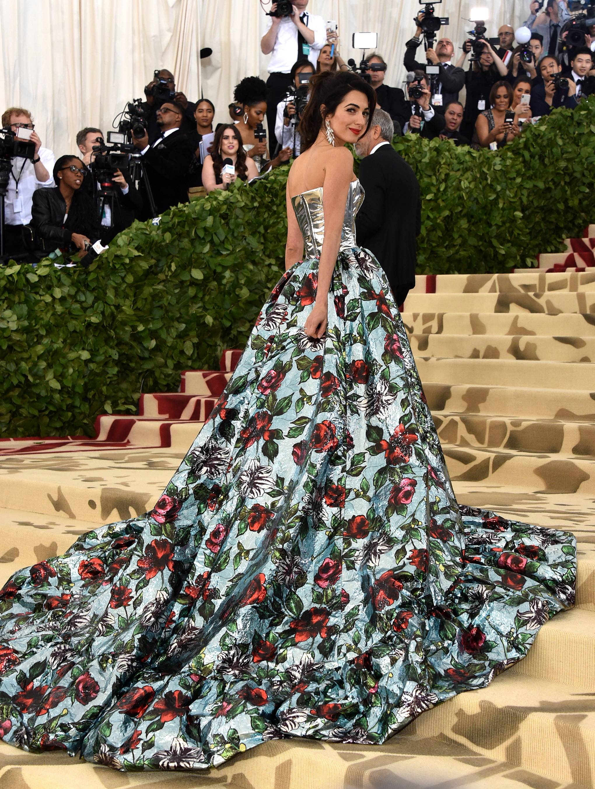 Met Gala 2018 Red Carpet Best Dressed amal clooney-celebrity-style