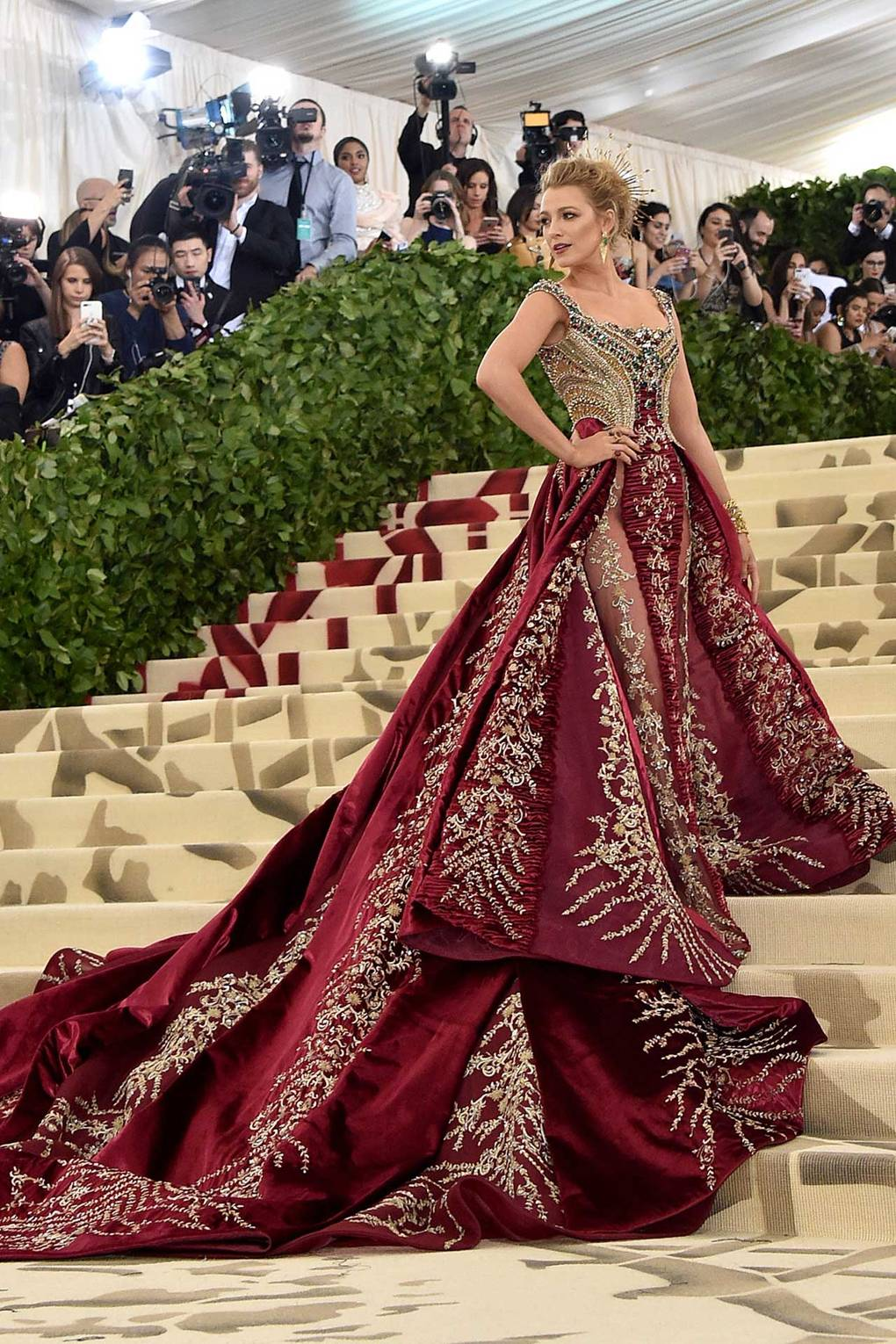 Met Gala 2018 Red Carpet Best Dressed blake-lively-celebrity-style 2