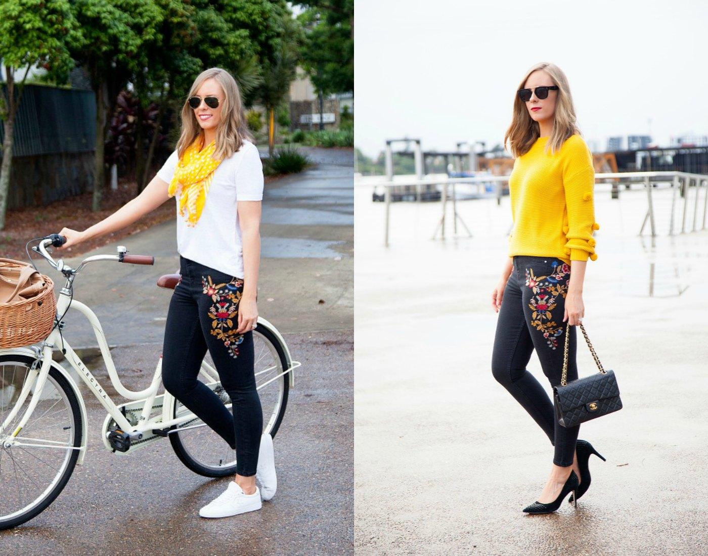 marigold fashion trend outfit ideas fashion blogger lauren slade
