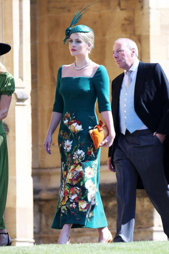royal wedding best dressed meghan markle and prince harry wedding guest outfits lady kitty spencer in dolce and gabbana - Royal Wedding Outfits: Best Dressed List featured by popular LA fashion blogger, Style Elixir