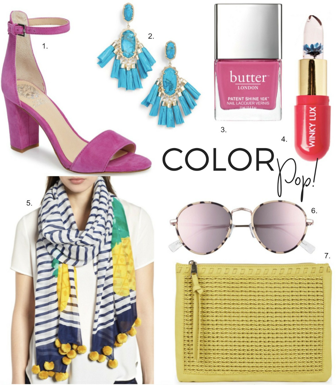 Lust List - Cute Colorful Accessories