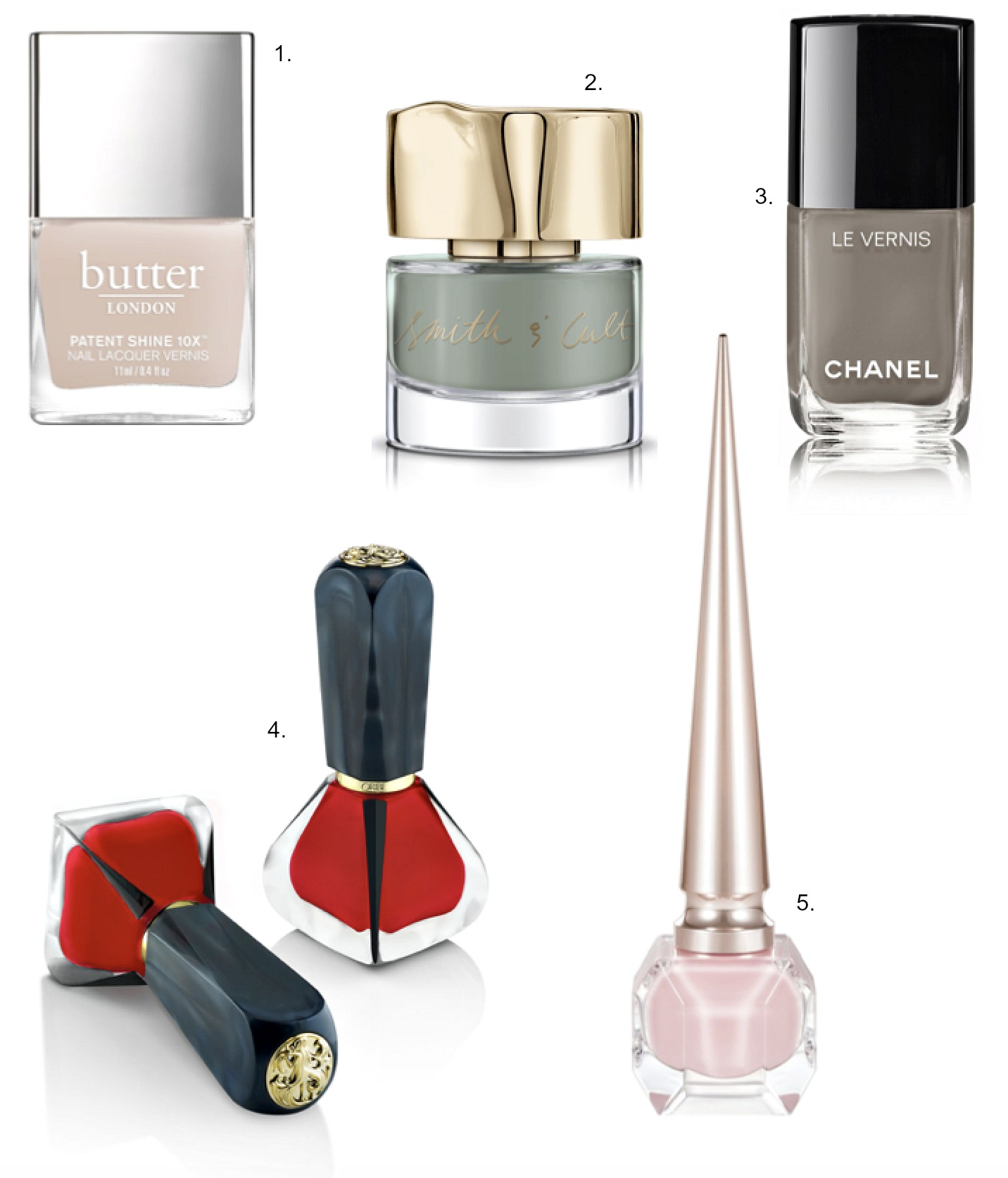 Most Stylish Nail Polish Colors reviews best nailpolish chanel christian louboutin nail polish | Most Stylish Nail Polish Colors featured by popular US style blogger, Style Elixir