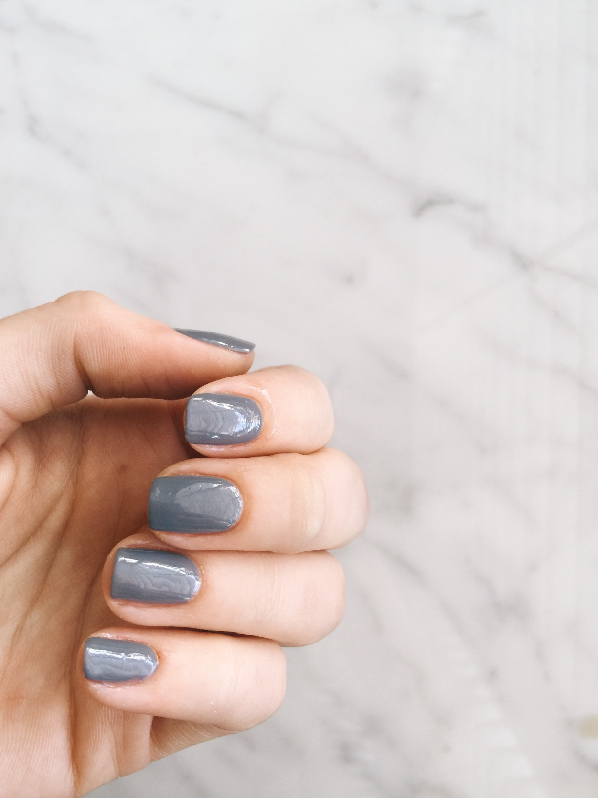 most stylish nail polish colors grey nail polish manicure | Most Stylish Nail Polish Colors featured by popular US style blogger, Style Elixir