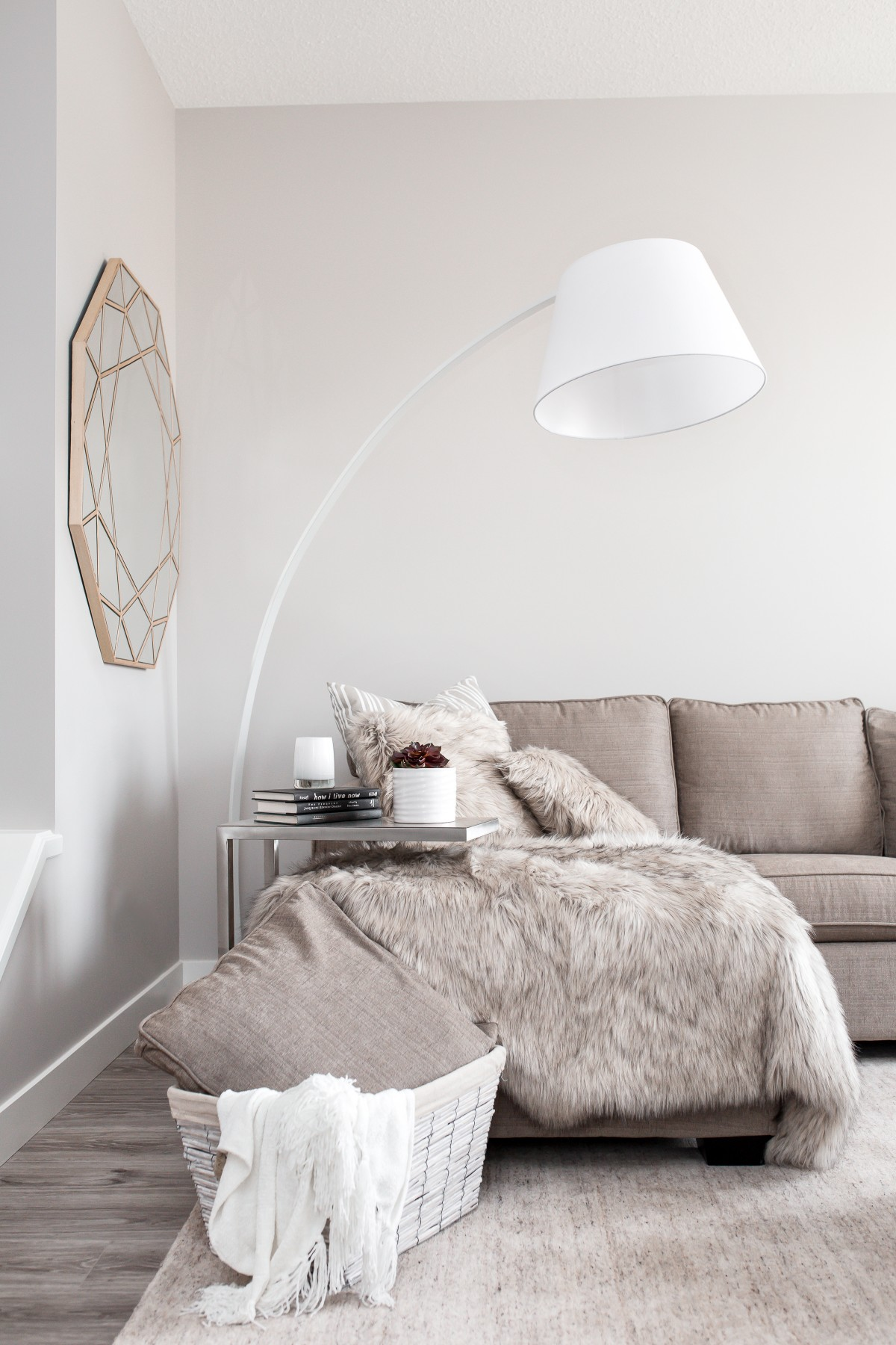 scandinavian decor tips and ideas grey and white neutral home style | Top 5 Scandinavian Home Decor Style Tips featured by popular US blogger Style Elixir