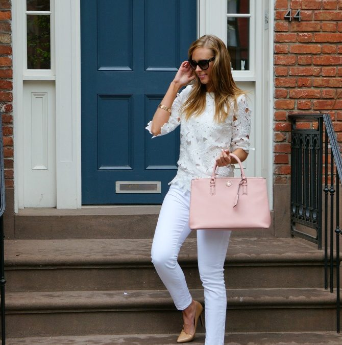 Styling White on White in the West Village