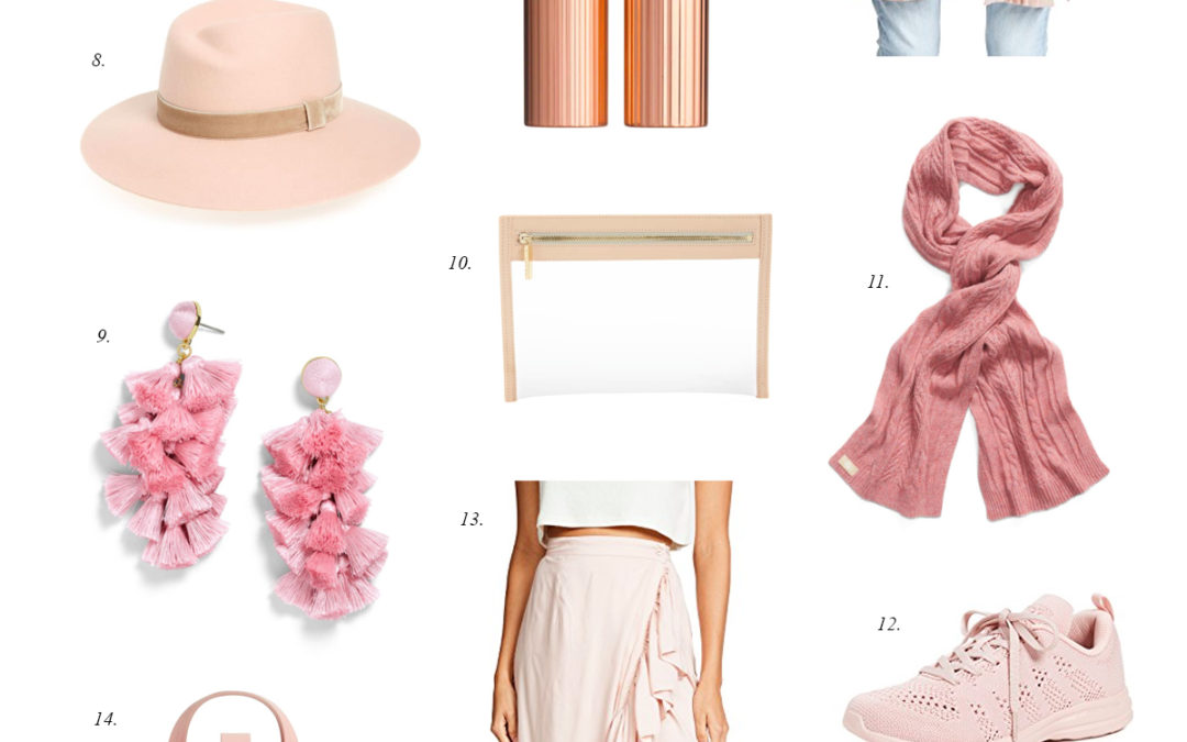 Friday Faves: Currently Covet – Blush Pink Outfit Ideas