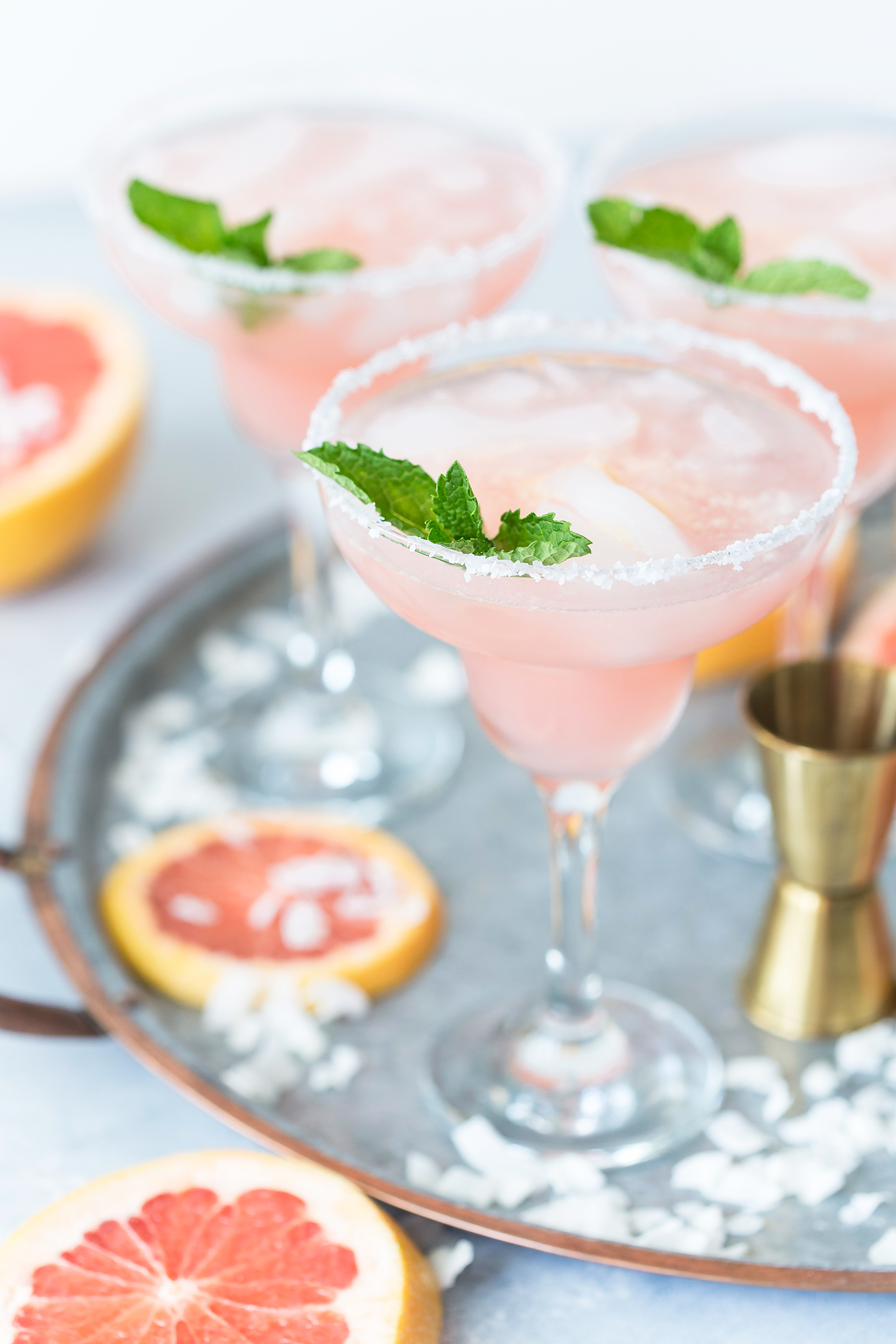 coconut-grapefruit-margaritas-best summer cocktail recipes