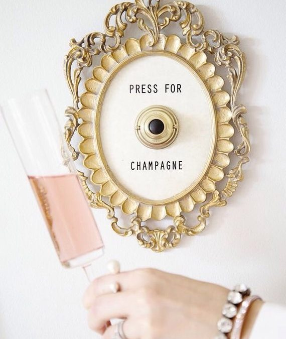 Friday Faves – Press For Champagne Button