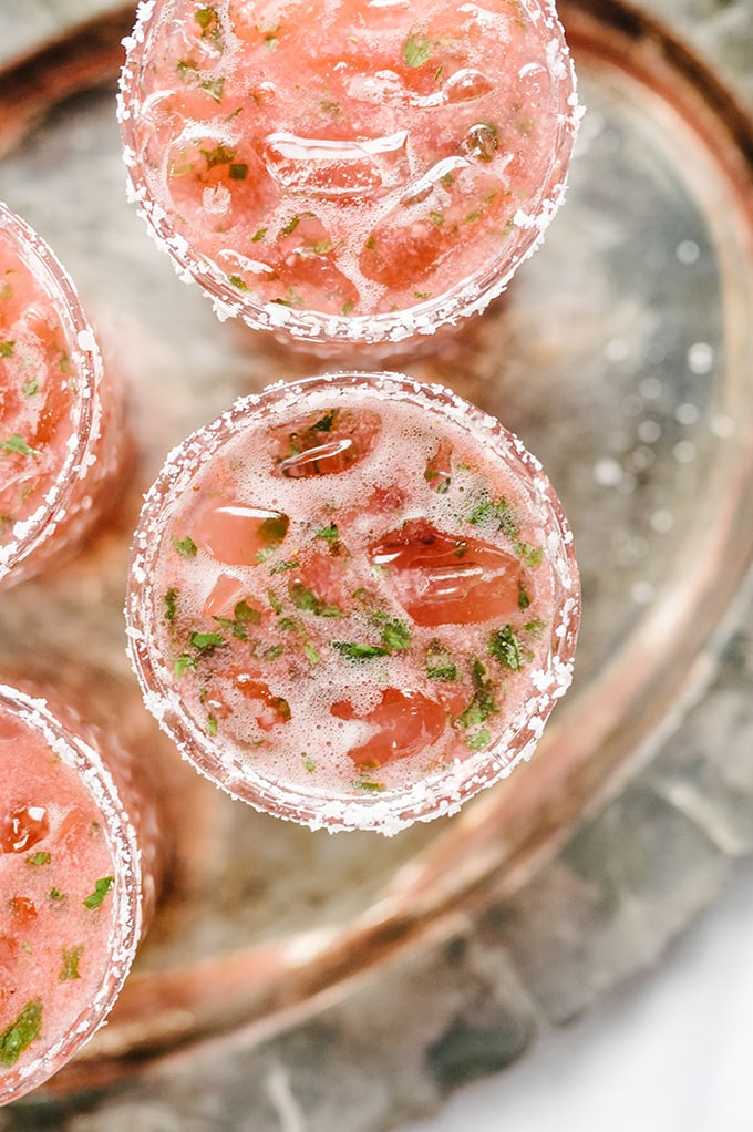 strawberry-basil-margarita-summer cocktail recipes