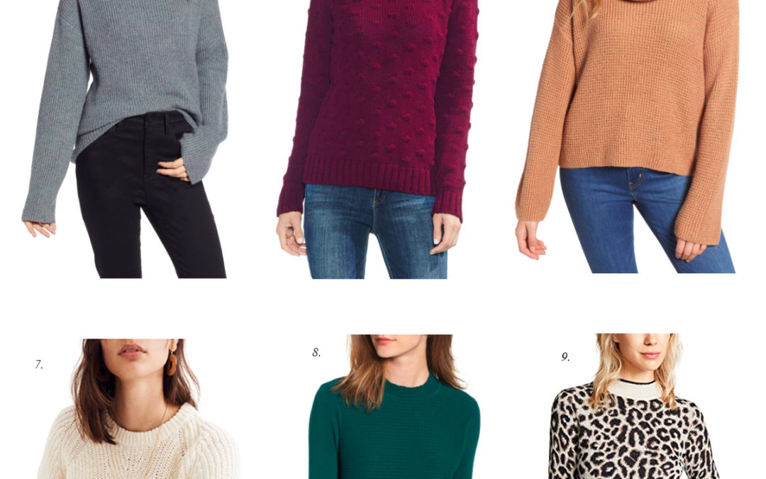 Friday Faves: Best Fall 2018 Sweaters