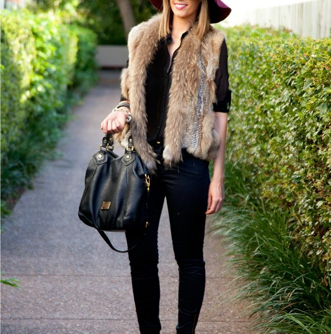 Style Sessions: Fur Vest Outfit Idea Every Girl Needs To Try