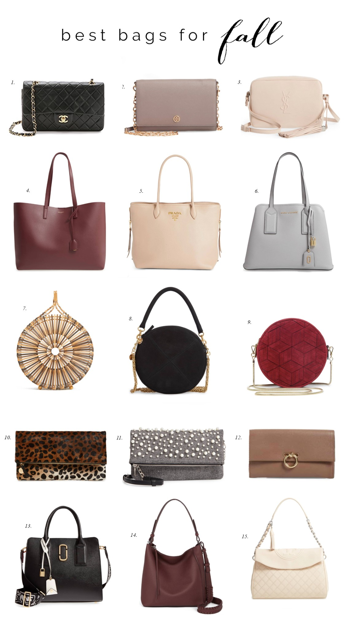 eca6a5e1f Friday Faves: 15 Best Bags For Fall | Style Elixir | Bloglovin'