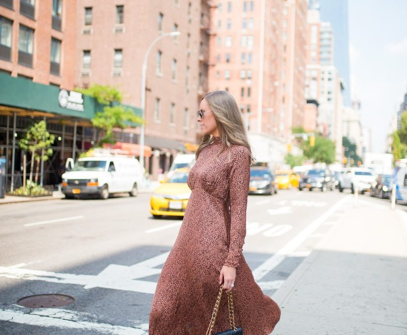 Style Sessions – Free People Leopard Dress Outfit