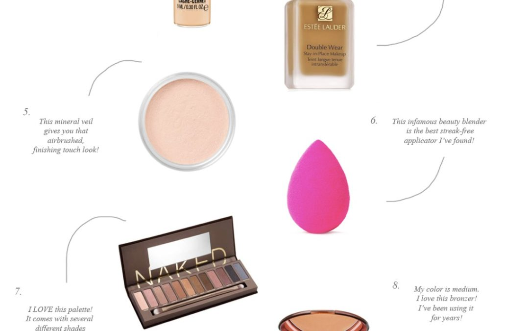 Friday Faves: My 12 Beauty Essentials