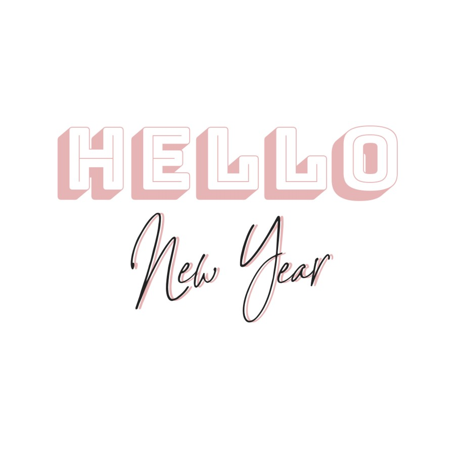 Happy new year hello new year quote