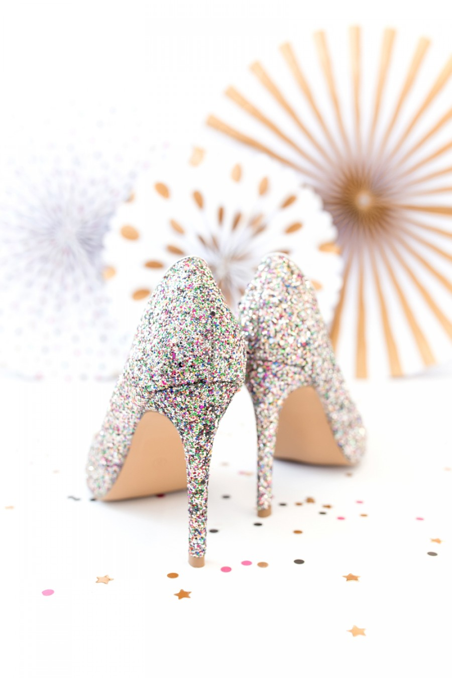 new years eve sequin heels pumps