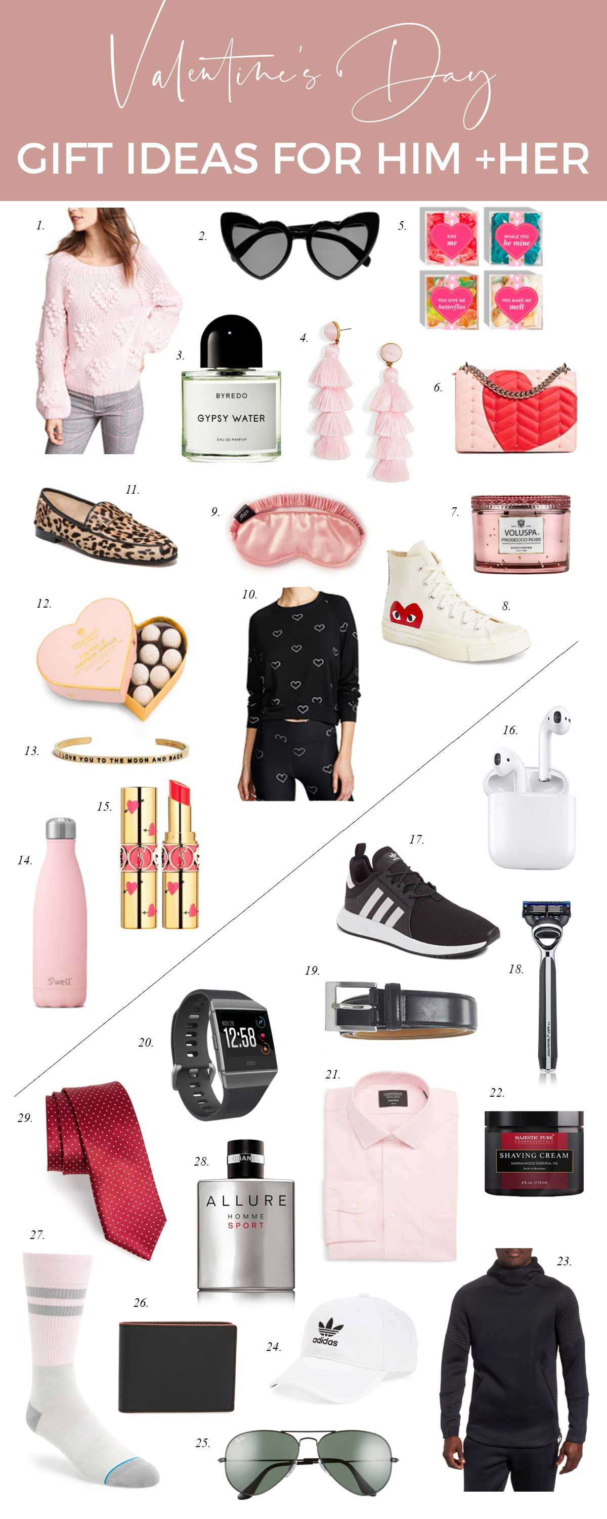 349892efb0e94 Friday Faves  Valentine s Day Gift Ideas For Him and Her