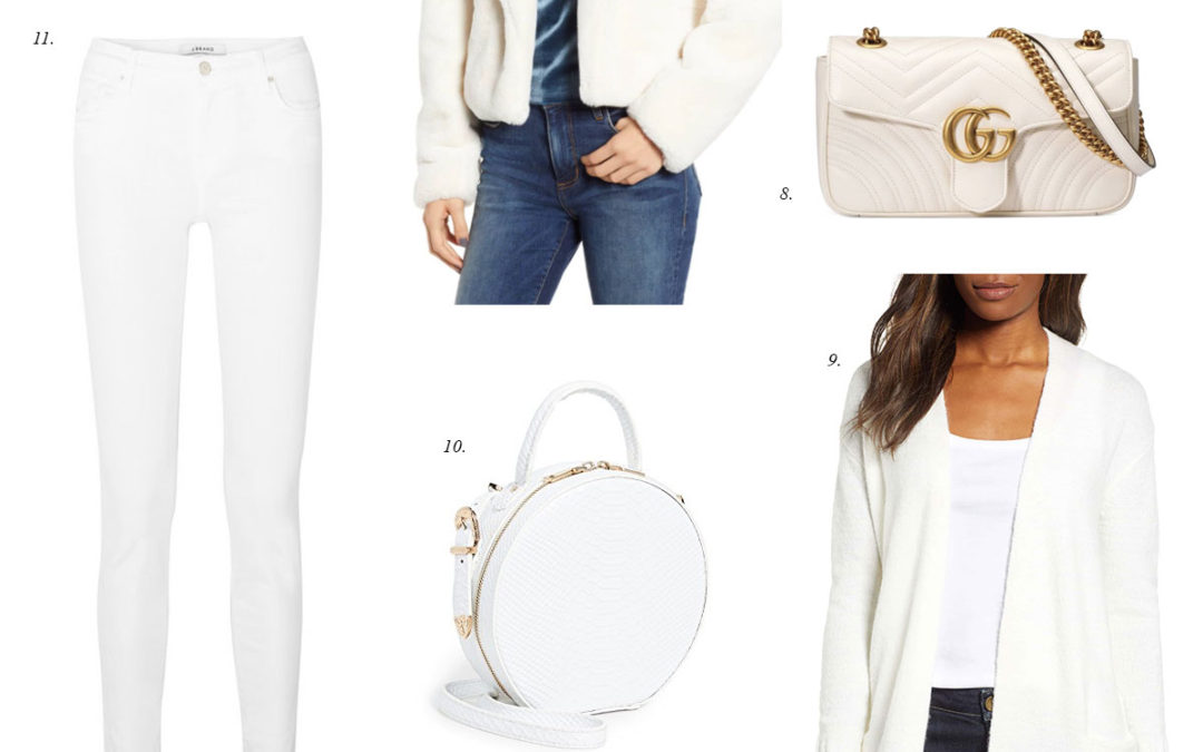 Friday Faves: Winter White Outfit Ideas