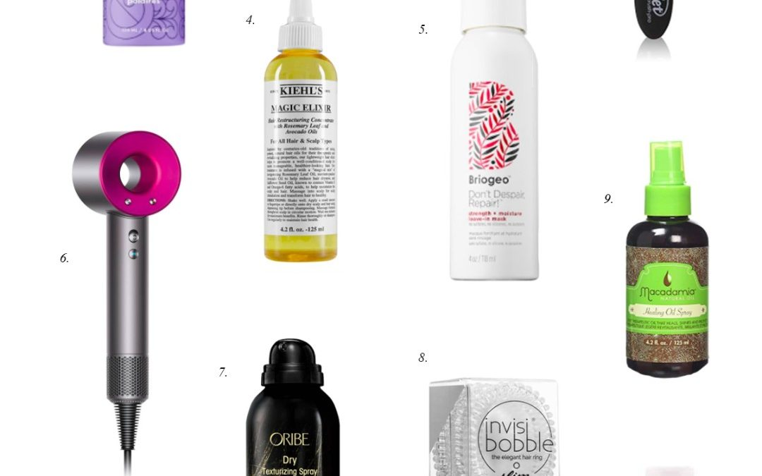 Friday Faves: Best Hair Products + 5 Hollywood Hair Tips