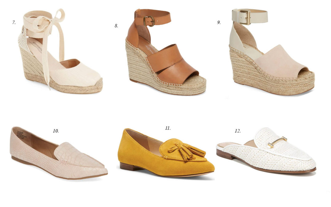 Friday Faves: 21 Pretty Spring Shoes