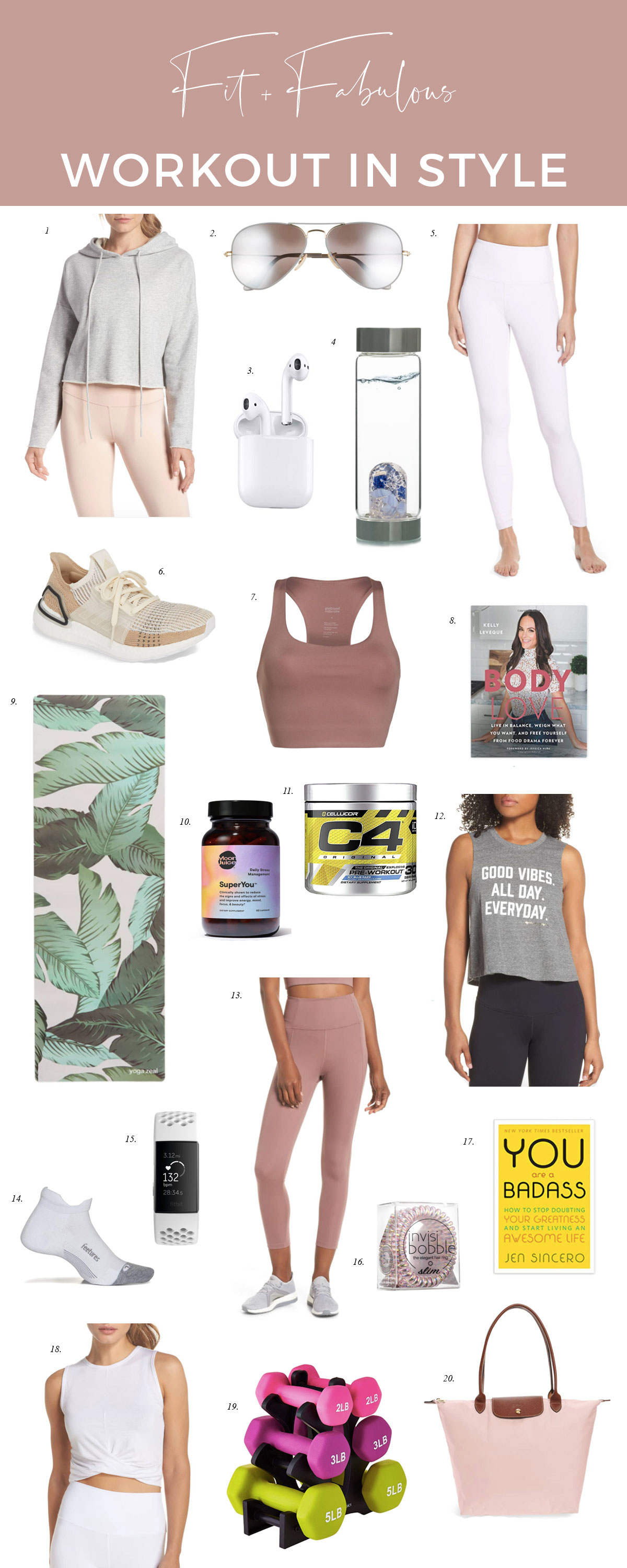 the-best-stylish workout clothes fitness and wellness wear activewear-trend-white-leggings