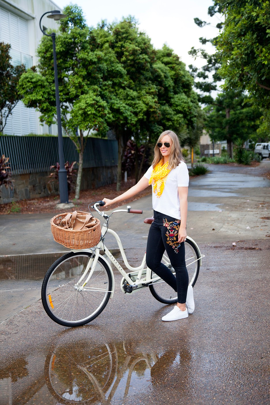 white tee and jeans weekend outfit pinterest best white tees fashion blogger outfits