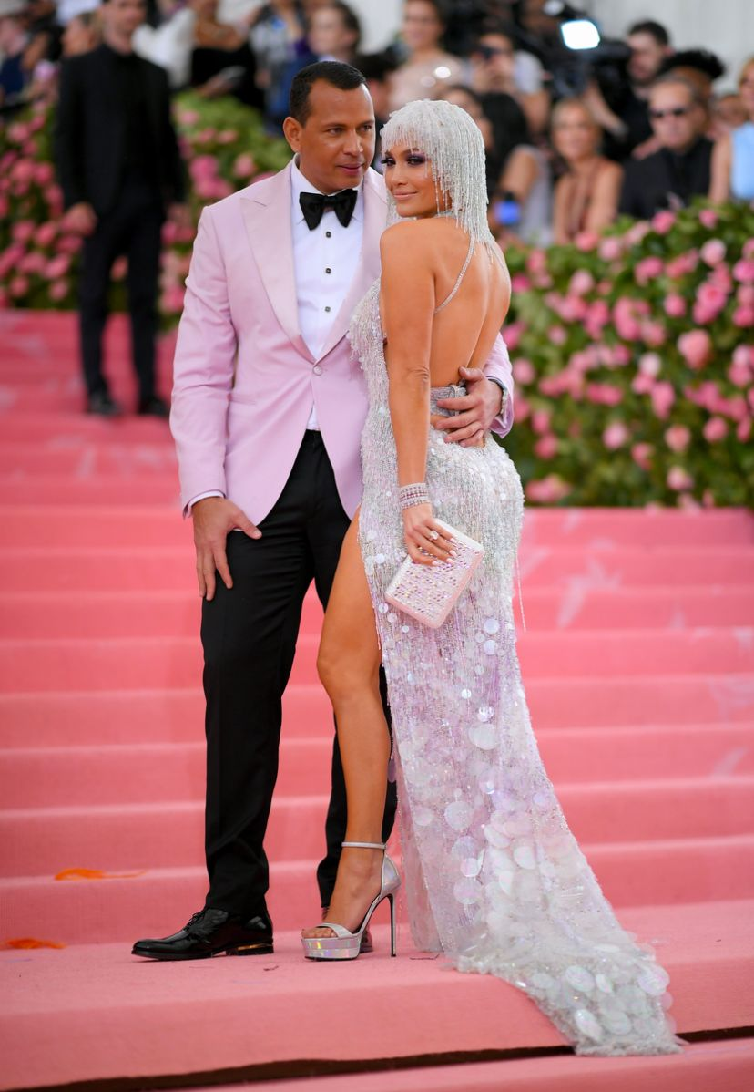 Alex Rodriguez and Jennifer Lopez met gala 2019 fashion
