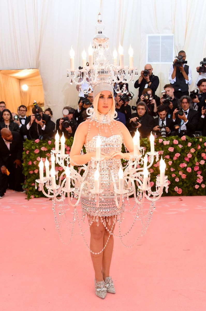 Katy Perry in Moschino met gala 2019