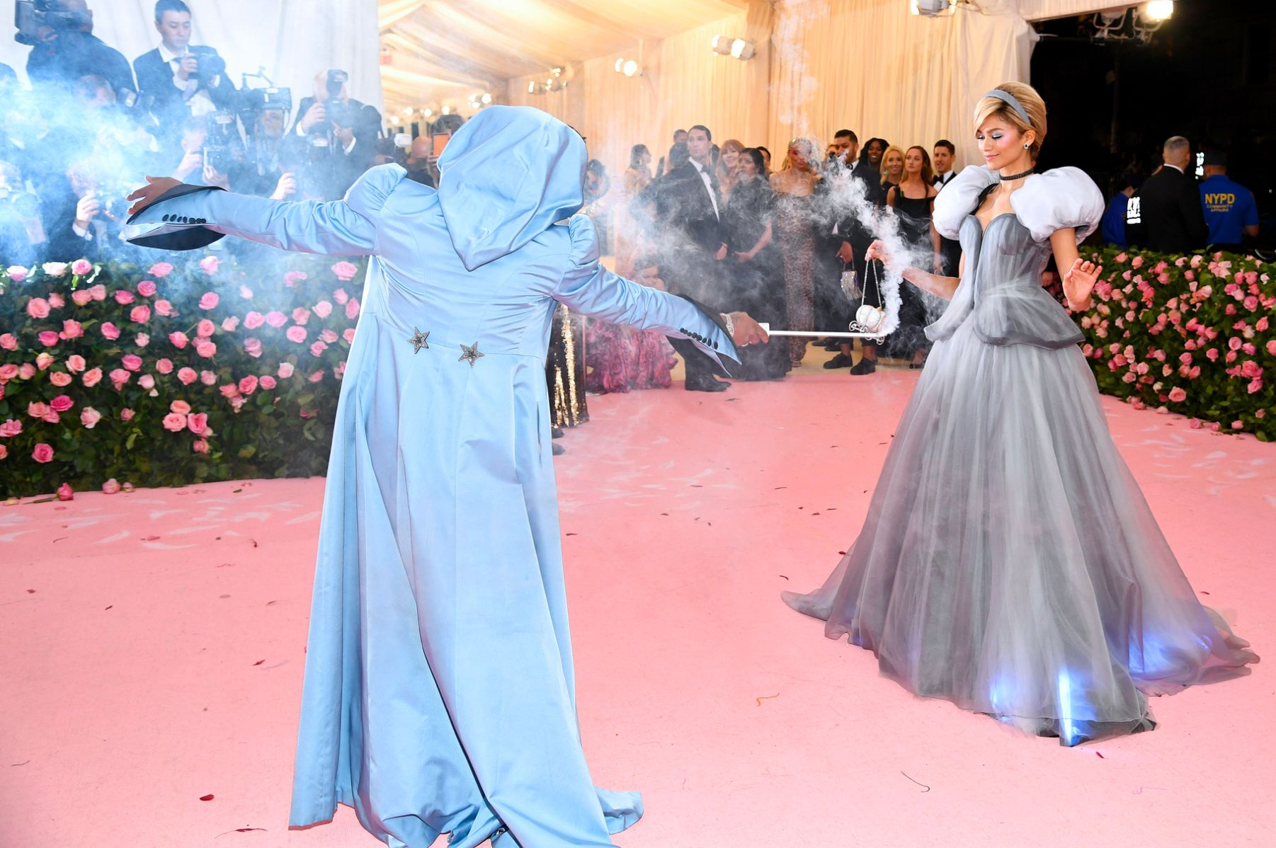 Law Roach and Zendaya met gala 2019