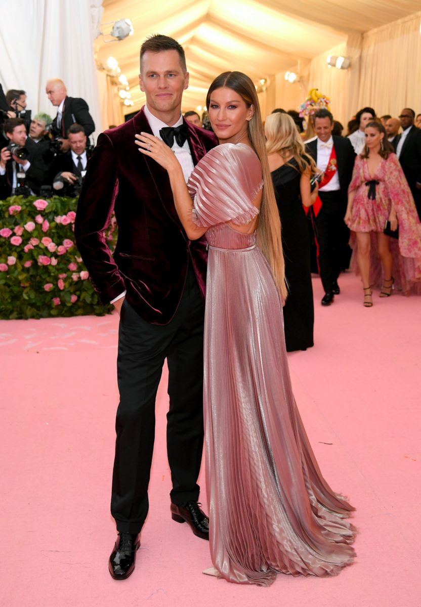 Tom Brady and Gisele Bündchen met gala 2019