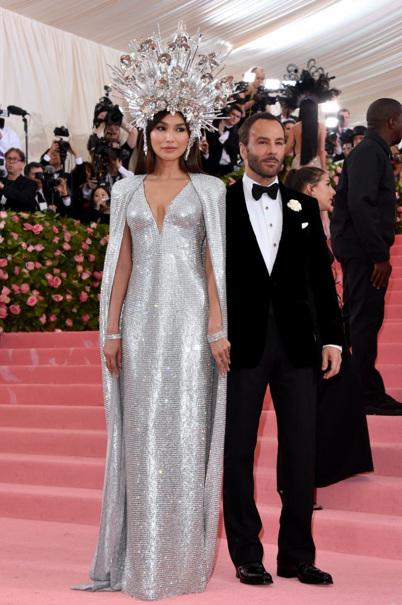 Tom Ford and Gemma Chan in Tom Ford