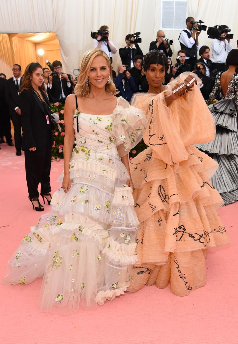 Tory Burch and Kerry Washington