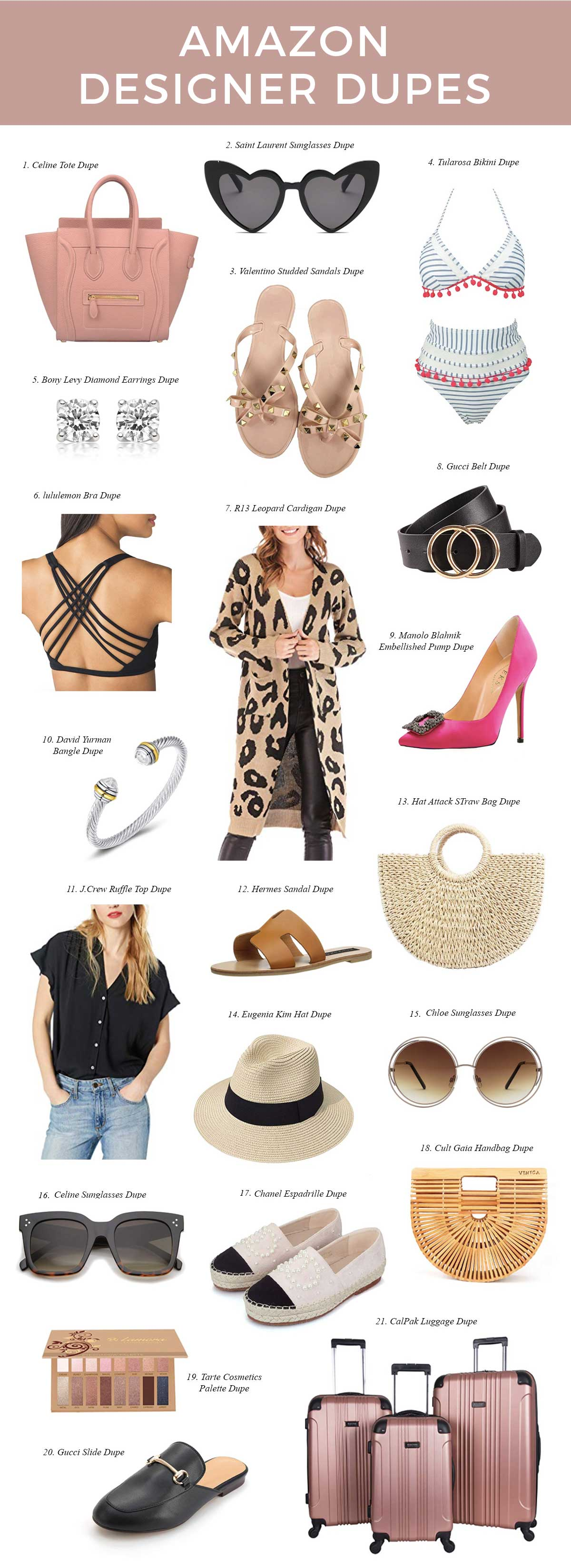693b1ca06f8cf Friday Faves: 20 Best Amazon Designer Dupes | Style Elixir | Bloglovin'