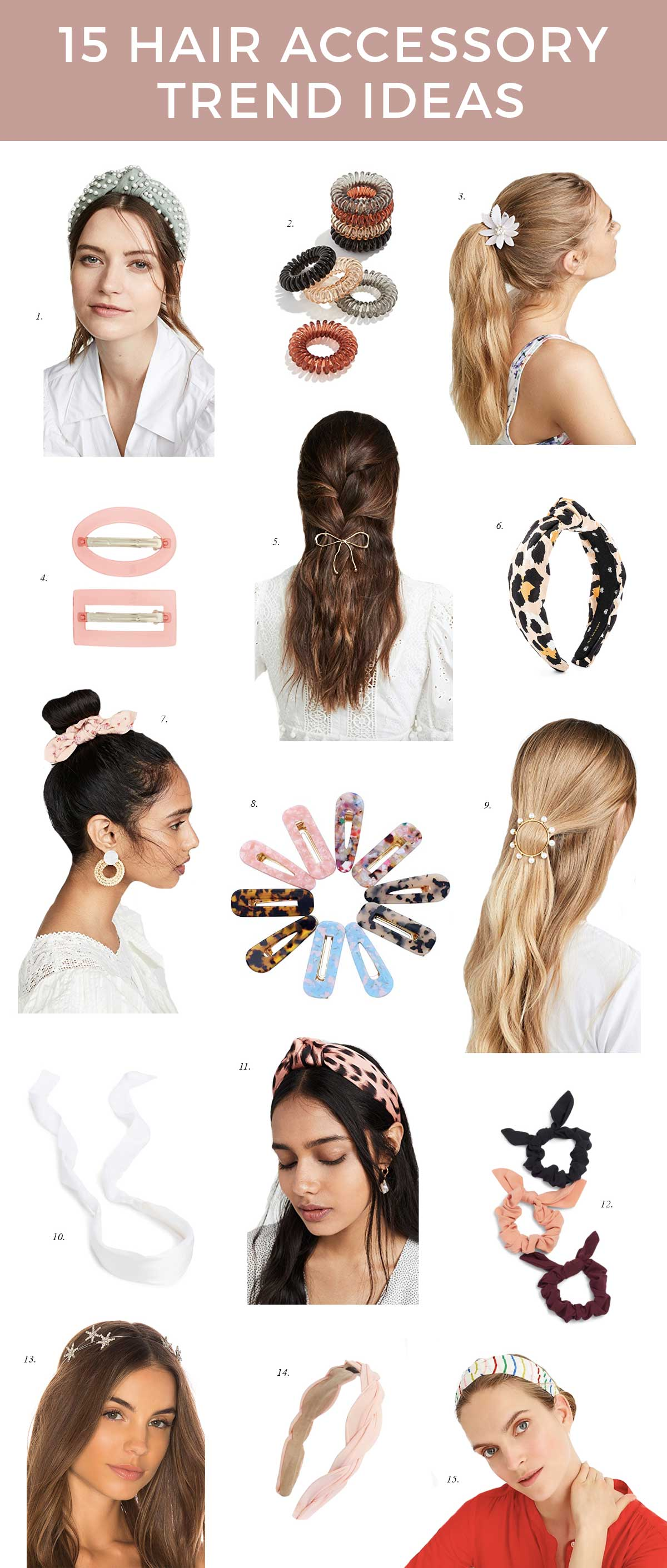 most popular 15 hair accessory trend ideas 2019