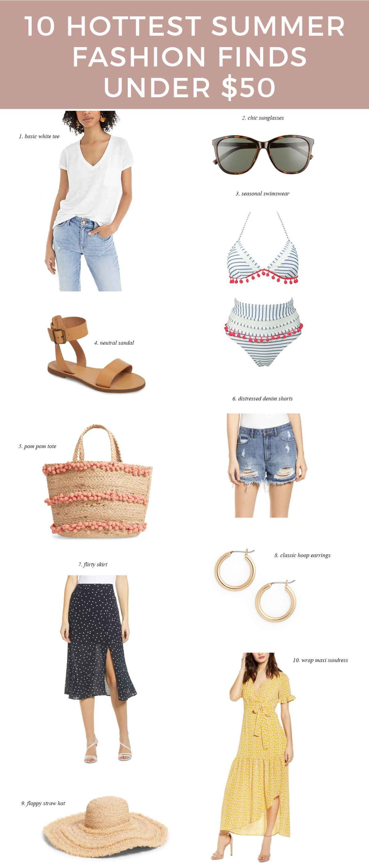 Hottest-summer-fashion-finds-under-$50-budget-friendly-style-blogger-summer-outfits