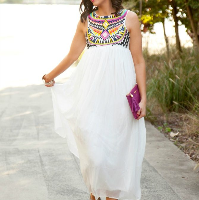 Style Sessions – White Summer Dress