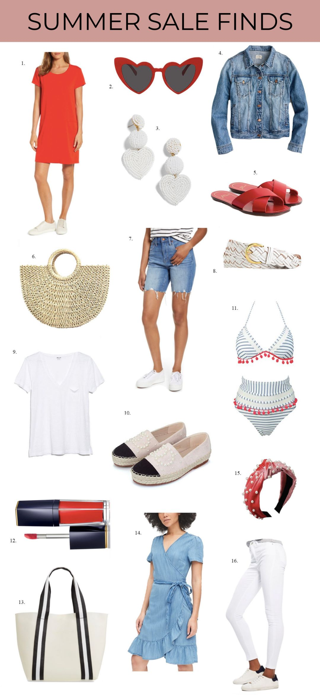 4th of july sales weekend summer sale 2019 promo pinterest fashion